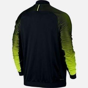 827a4cc12947 Nike Jackets   Coats - Nike Premier Tennis Jacket Black Volt Men s ...